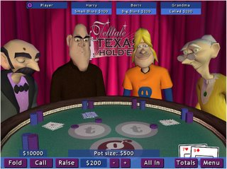 Teltale Texas Hold em - Gameplay Screenshot