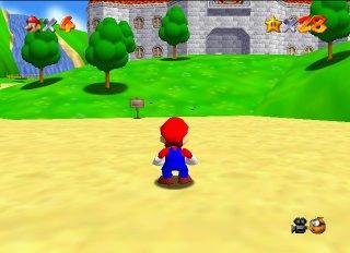 Super Mario 64 - Mario 64