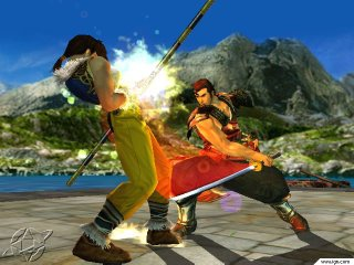 Soul Calibur - Sega Dreamcast Screenshot