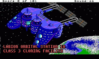 Space Quest 0 - Replicated