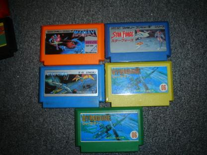 Famicom Pirate Cartridges 1