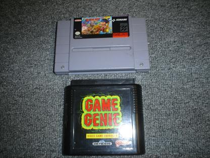 Game Genie for Sega Genesis and Legend of the Mystical Ninja