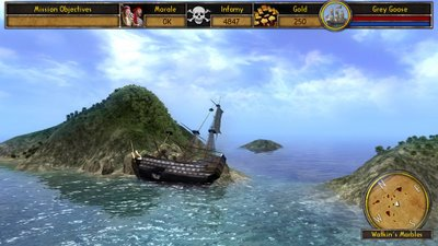 Buccaneer - The Pursuit of Infamy - Indie Game - PC - Gameplay Screenshot