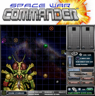 Space War Commander - Amiga