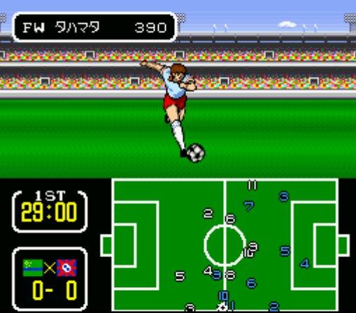 Captain Tsubasa 3 - Gameplay Screenshot