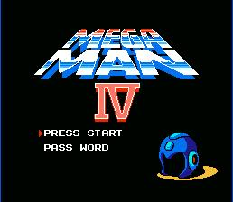 Mega_Man_4_NES_Title Screen