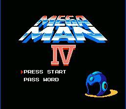 Mega_Man_4_NES_Title Screen