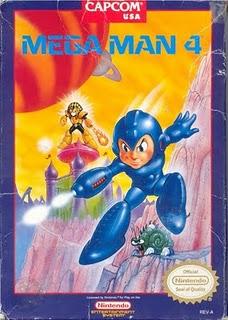 Megaman 4 - Nintendo Box
