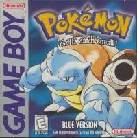 Pokemon Blue - Nintendo Gameboy Box