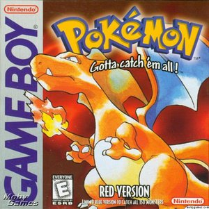 Pokemon Red - Nintendo Gameboy Box