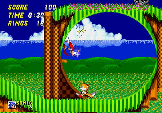 Sonic 2 - Gameplay Screeenshot 1