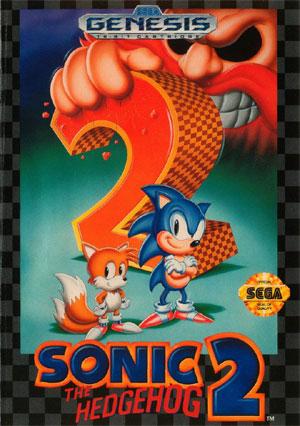 Sonic 2 - Genesis Box