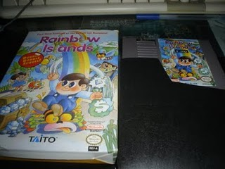 Rainbow Islands - Game Box
