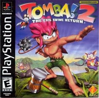 Tomba 2 - Playstation Box