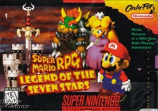 Super Mario RPG - SNES Box
