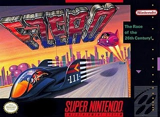 F-Zero Super NES Box