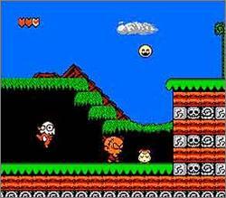 Genjin - Famicom - Gameplay Screenshot