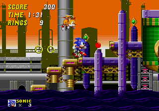 Sonic 2 Oil Ocean