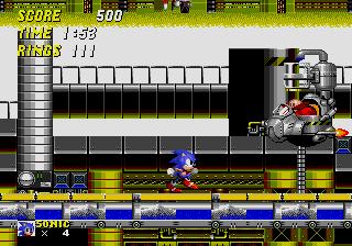 Sonic Chemical Plant Boss