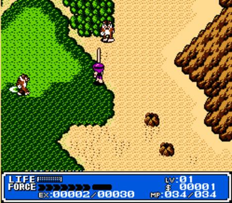 Crystalis-snk-nes-gameplay-screenshot