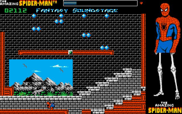 the amazing spiderman - Amiga - gameplay screenshot