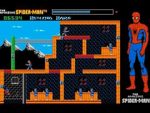 The Amazing Spider-Man - Amiga - Gameplay Screenshot - 2
