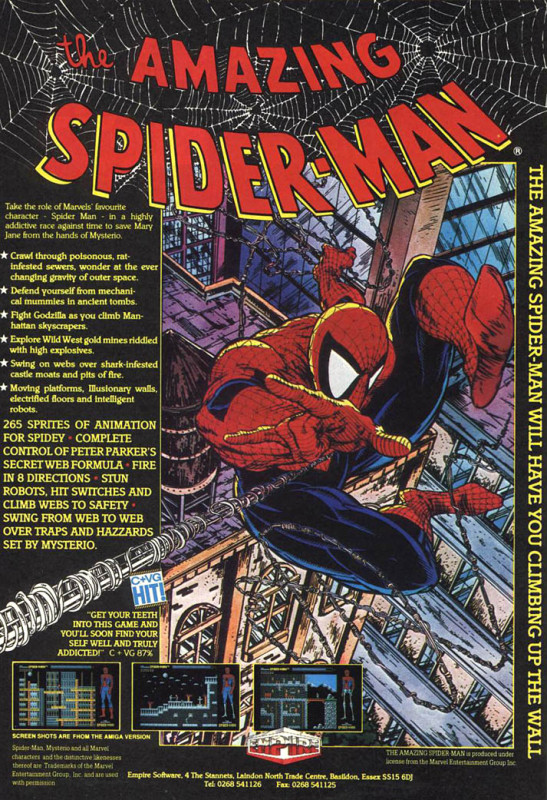 amazing_spider-man_amiga, cover