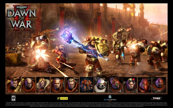 Dawn of War 2 Space Marines