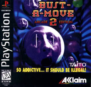 Bust A Move 2 - Playstation Box