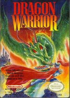 Dragon Warrior - NES - Gameplay Screenshot - Box