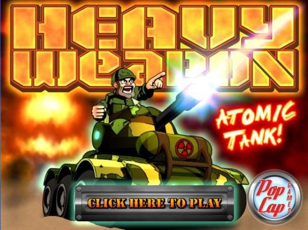 Heavy Weapon Atomic Tank!