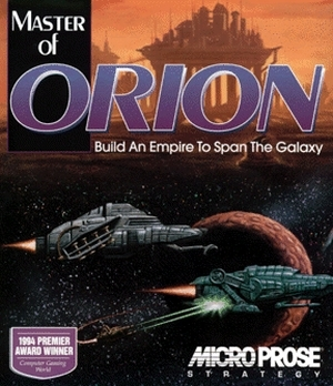 Master of Orion box cover