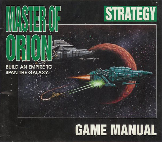 Master of Orion manual