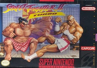 Street fighter 2 turbo - hyper-fighting - SNES Box