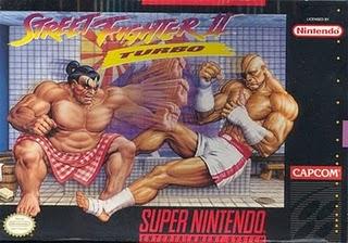 Street fighter 2 turbo - hyper-fighting - SNES Box