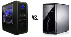 custom computer vs bought computer