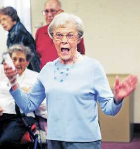 Old Woman Wii