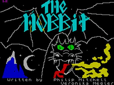The Hobbit Spectrum loading screen