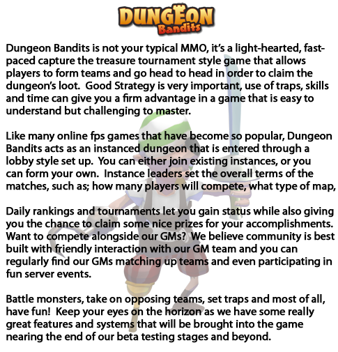 Dungeon Bandits intro