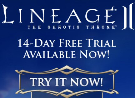 Lineage 2 free trial