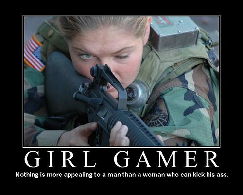 Girl Gamer FPS