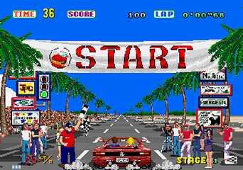 Outrun screenshot I