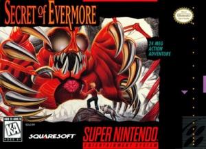 Secret of Evermore cover