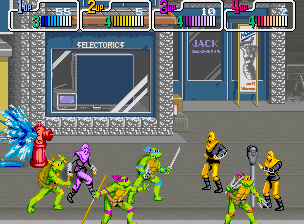 TMNT arcade screenshot