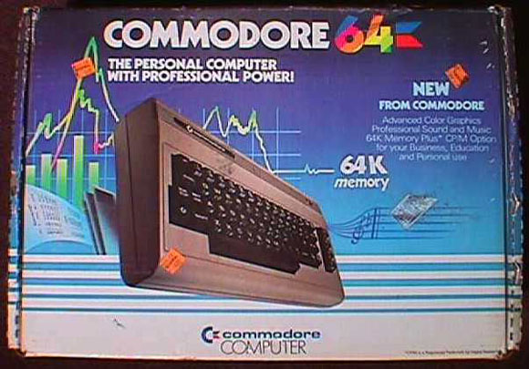 Commodore 64 box