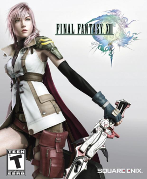 Final Fantasy XIII Box Artwork