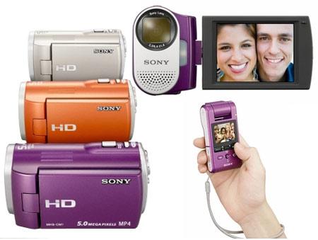 Sony Webbie MHS-CM1 HD Camcorder