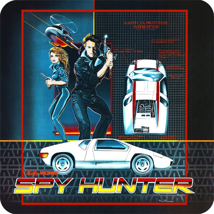Spy Hunter cover