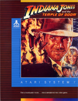 Indiana Jones Temple of Doom box