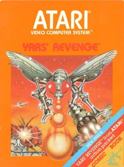 ATARI Yars' Revenge box